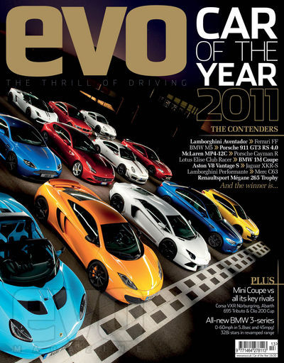 evo car of the year 2011