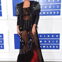 MTV VIDEO MUSIC AWARDS: Rita Ora sadly made the worst dressed list with this see-through ensemble
