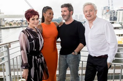 Entertainment: X Factor Host Mini Spice Girls Reunion