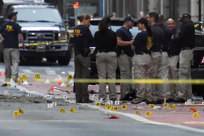 Police search for terrorism link in New York blast that injured 29