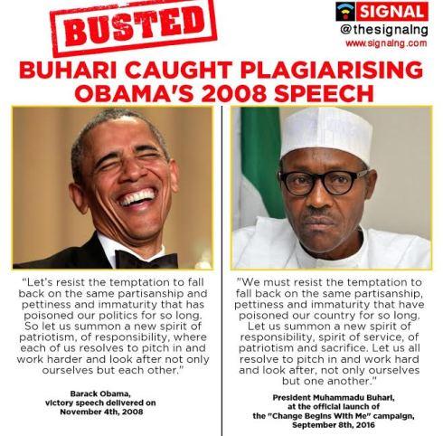 Obama verses Buhari
