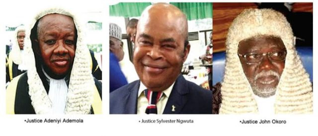 Arrested Judges by DSS