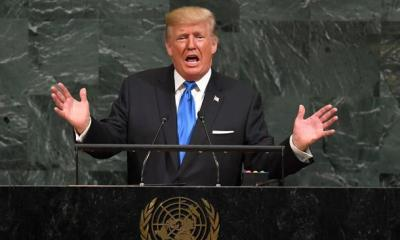 TRUMP AT THE UN GENERAL ASSEMBLY