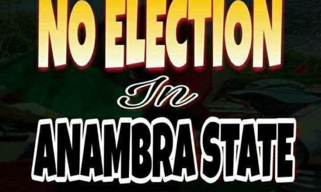 Video: Say 'NO to Anambra Election – Biafra Group