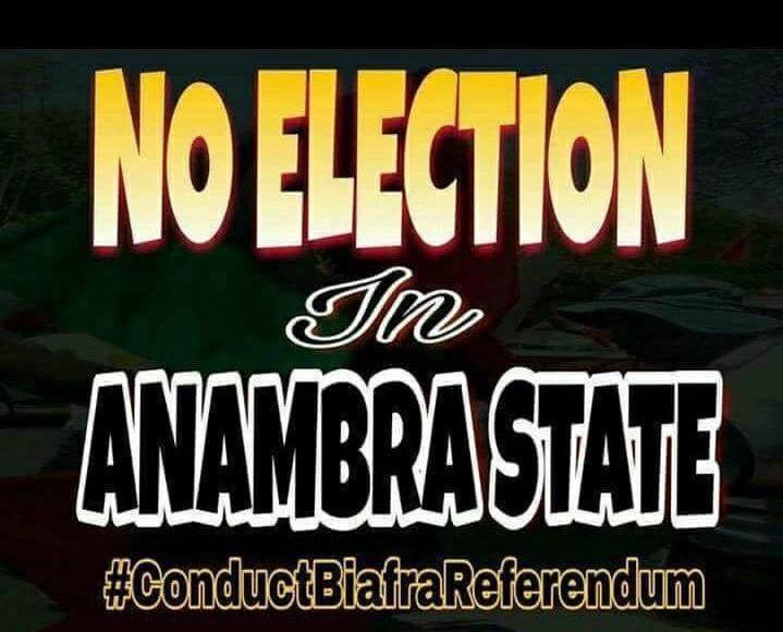 Say no to Anambra Election