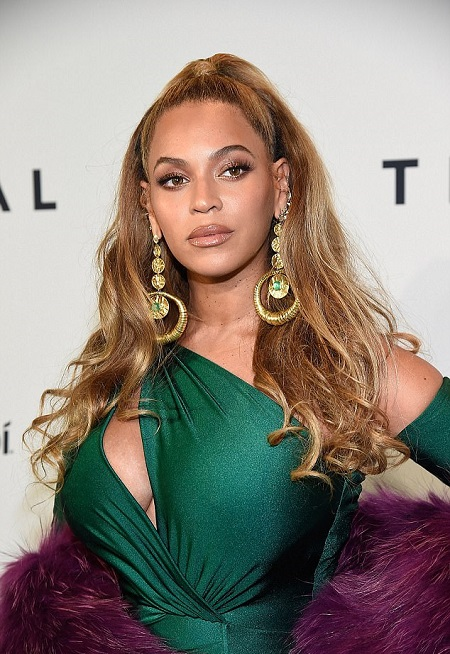 Beyonce Attends TIDAL's Annual Benefit Concert