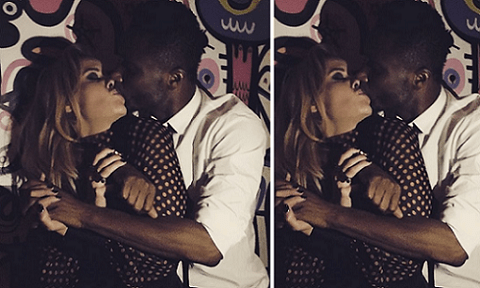 Mikel Obi's fiancee congratulates him with a kiss-photo over Super Eagles victory