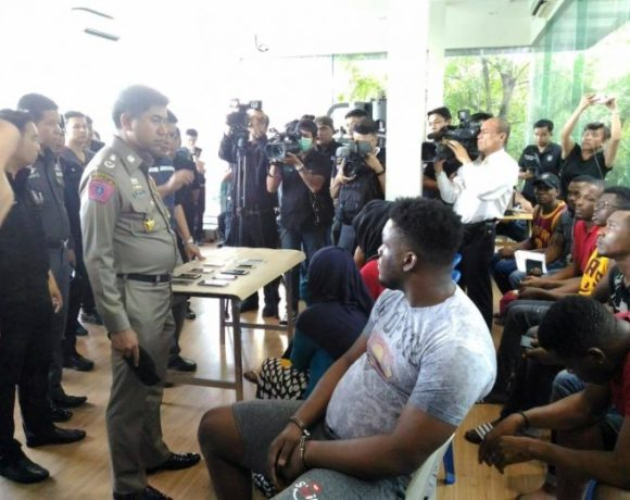 Nigerians, Somalians, others arrested in more raids targeting Africans in Bangkok, Thailand