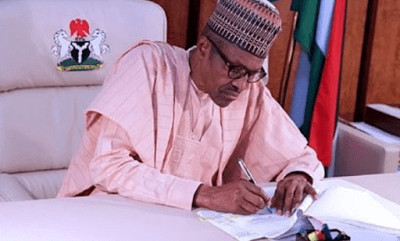 President Buhari makes new appointment