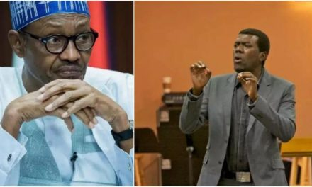 'By the time Buhari finished with Nigeria, Merriam Webster dictionary will replace corruption with his picture' – Reno mocks Buhari