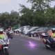 Controversial video of Pastor arriving at his Church with a Rolls Royce and entourage of power bike and horse riders