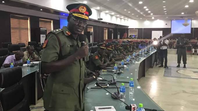 Nigerian Army did not invade Nnamdi Kanu's home - Buratai tells court