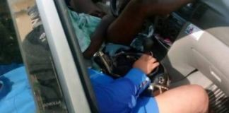 Disturbing photos of the lovers who were found dead inside a car in Ogba, Ikeja