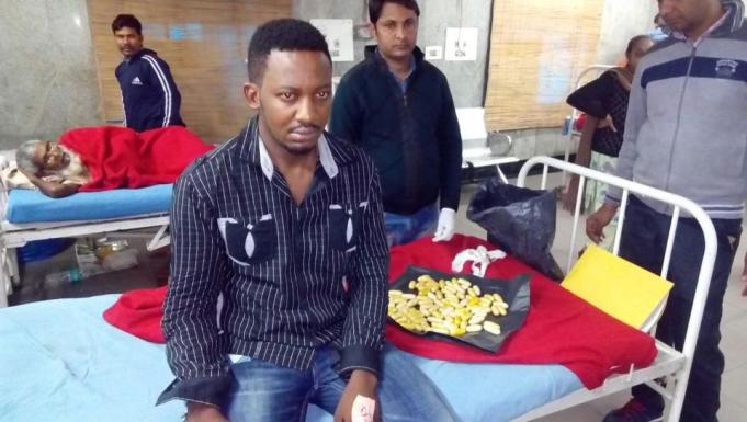 Nigerian national arrested in India