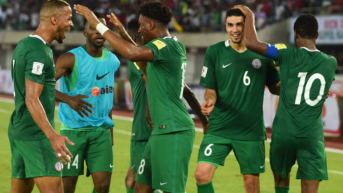 Nigeria super eagles trash Argentina
