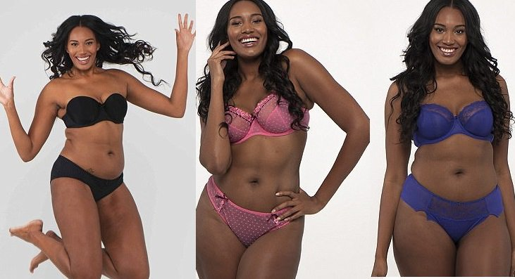 23-year-old woman who was told she was 'too tall' and 'too curvy' to ever become a model
