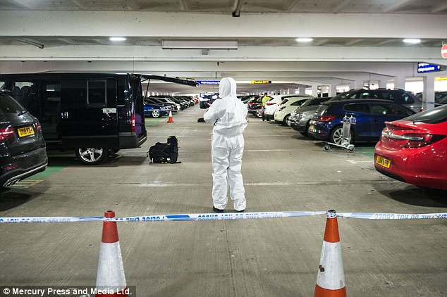 'Taxi driver', 57, collapses and 'dies of a heart attack after assault' in car park at Manchester Airport