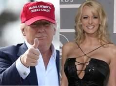 Trump and Adult film star, Stormy Daniels