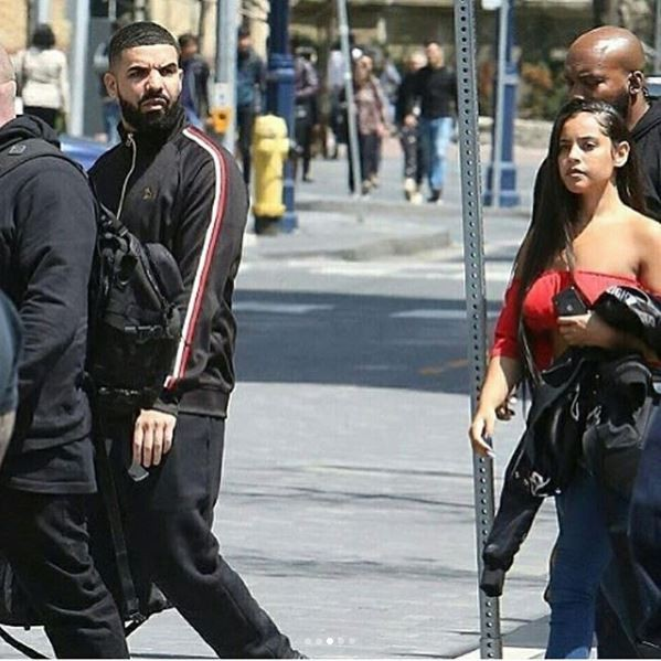 Drake spotted out with rumoured new girlfriend Malaika Terry & she's gorgeous