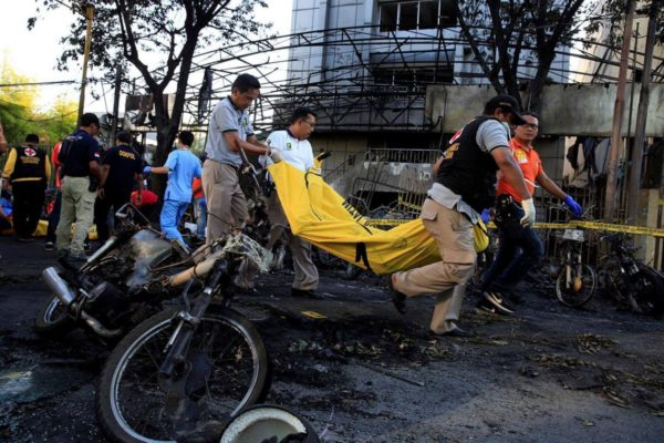 Suicide bombers hit Indonesia's Surabaya again