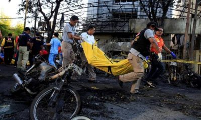 Suicide bombers hit Indonesia's Surabaya again