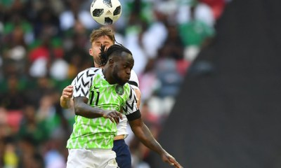 England beat Nigeria 2-1 in warm-up friendly