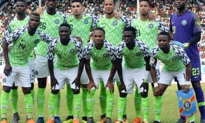 23-man list of Super Eagles players