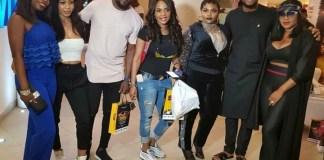 BBNaija: Nina spotted with AY, Iyabo Ojo, Others