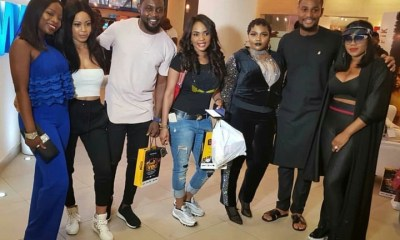 BBNaija: Nina spotted with AY, Iyabo Ojo, Others
