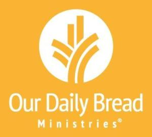 Our Daily Bread 12 July 2019 Devotional