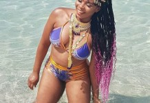 Yemi Alade shares cute bikini photo