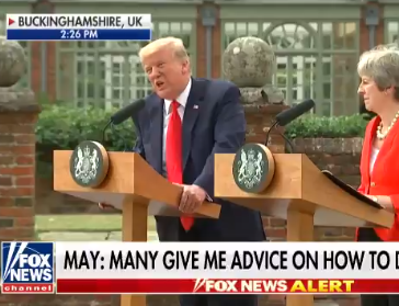 President Trump refuses to take questions from CNN's Jim Acosta, says network is ''Fake news'' (Watch Video)