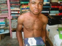 Young man severely beaten for stealing bibles in Anambra
