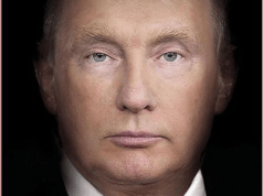 Time magazine unveils provocative new cover featuring a manipulated image of President Donald Trump morphing into Russian President Vladimir Putin
