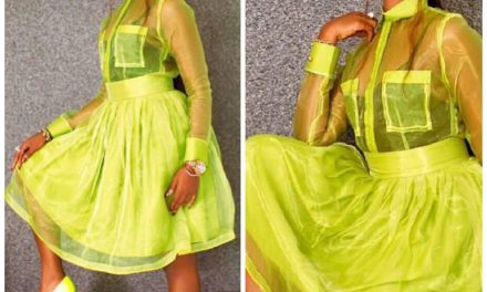 BamBam slays in a see through lemon outfit – See Photos