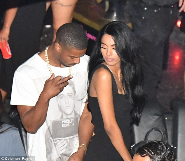 Black Panther star Michael B. Jordan parties with rumored girlfriend Ashlyn Castro at St Tropez club