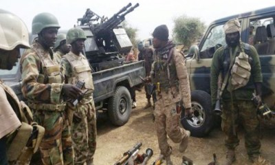 Bodies of 10 out of the 23 soldiers that went missing after being ambushed by Boko Haram members in Borno state recovered.
