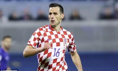 Croatian striker Nikola Kalinic.