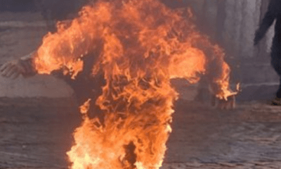 Vietnam man dies after setting himself on fire