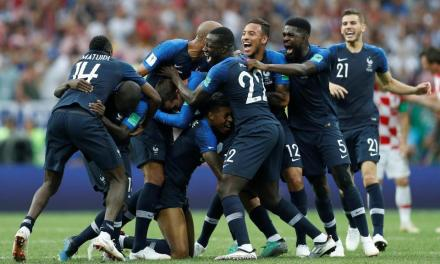 France 4 Croatia 2: Antoine Griezmann, Paul Pogba and Kylian Mbappe inspire French to crushing World Cup final win in incident-packed classic