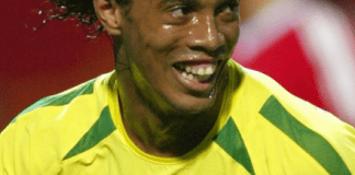 New look of football legend Ronaldinho (photo).