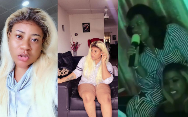 Nollywood actress Nkechi Blessing fails woefully after she was asked to spell Hippopotamus (video)