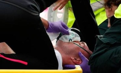 Micheal Keane suffers small skull fracture