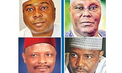 2019 Election: Lamido, Tambuwal, Kwankwaso, Atiku set for battle over PDP ticket