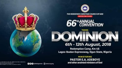 DAY 7 RCCG HOLY GHOST CONVENTION 2018 - FAREWELL SERVICE