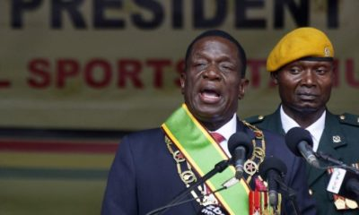 Zimbabwe elects Mnangagwa president