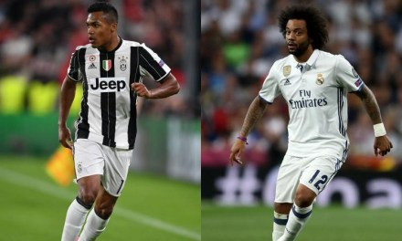 Real Madrid likely to swap Marcelo for Juventus' Alex Sandro, following Ronaldo's £100million move