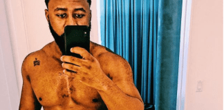 Cassper Nyovest shares semi-nude photo