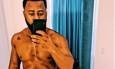South African rapper, Cassper Nyovest shares semi-nude photo with glimpse of his pubic hair on display