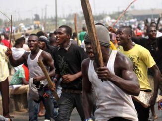 violence erupts in Jos
